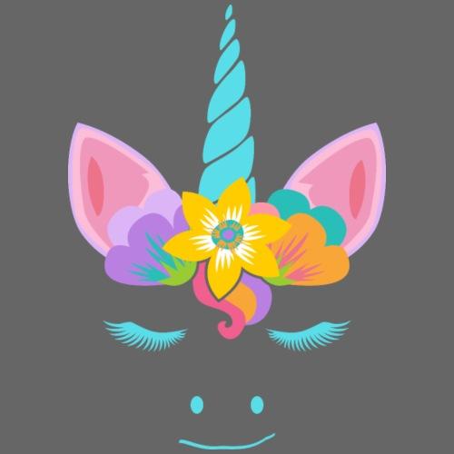 Cute Unicorn Flower Power Hippie 4 - Männer Premium T-Shirt