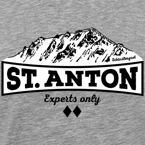 St. Anton Schindlergrat - Men's Premium T-Shirt