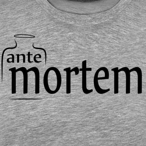 Ante Mortem - Premium-T-shirt herr