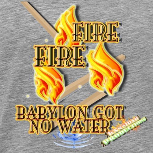 Fire, Fire (Kansidah Design) - Männer Premium T-Shirt