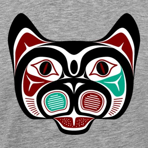 Northwest Pacific coast Haida Kitty - Men's Premium T-Shirt