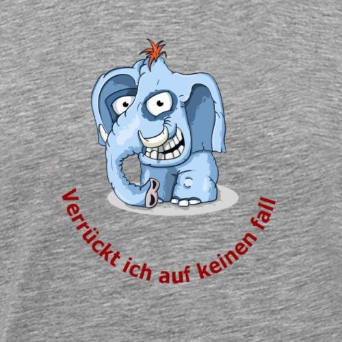 verrueckter elefand - Männer Premium T-Shirt