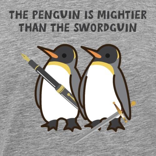 Funny Penguin Pun - Men's Premium T-Shirt