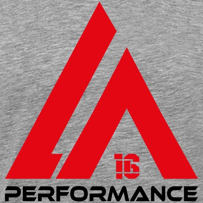 LA Performance red/black