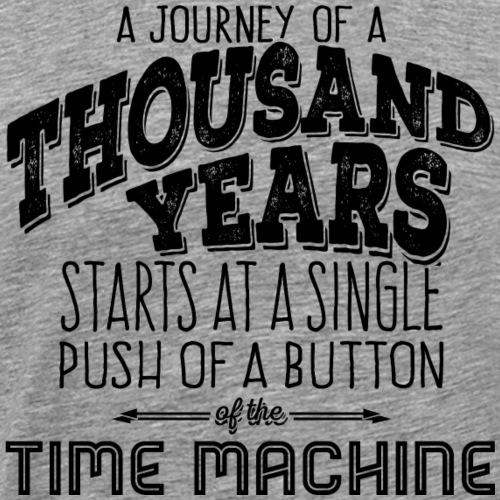 Journey of 1000 Years - black - Männer Premium T-Shirt