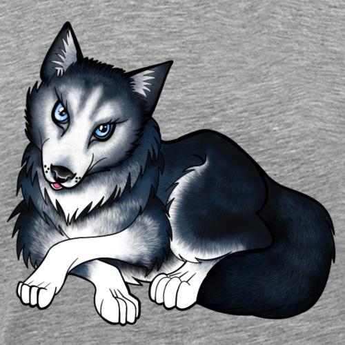 Husky - Men's Premium T-Shirt