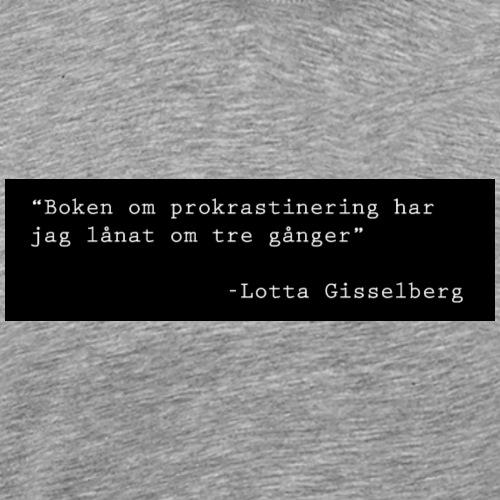 Lotta Gisselberg - Premium-T-shirt herr