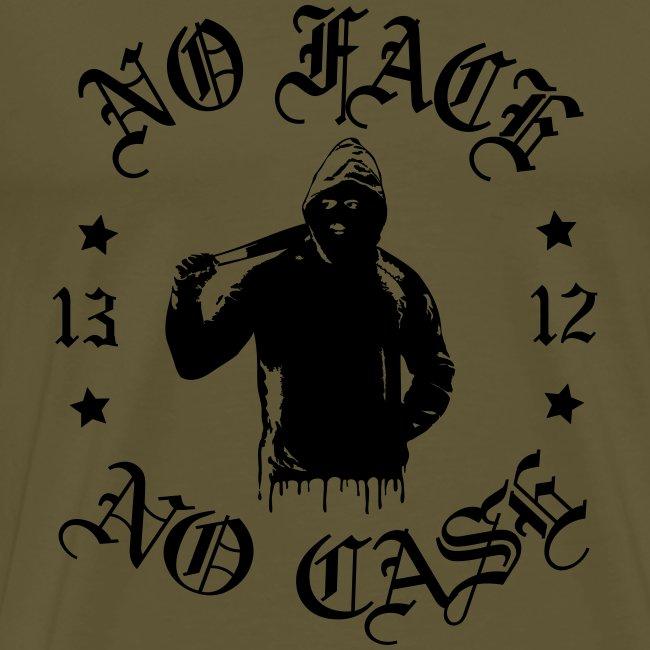 No Face, No Case - iso printti