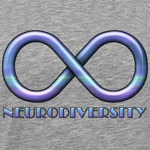 Infinity Sign for Neurodiversity - Men's Premium T-Shirt