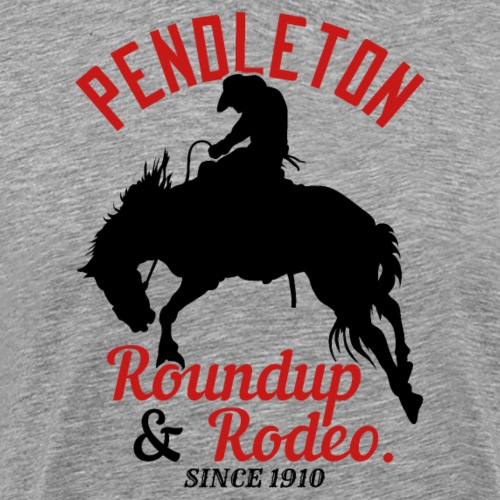Pendleton Roundup & Rodeo Since 1910 - Männer Premium T-Shirt