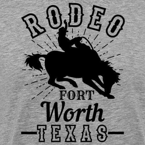 Dallas Rodeo Fort Worth Texas - Männer Premium T-Shirt
