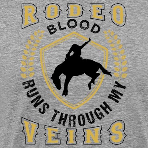 Rodeo Cowboy Horse Riding - Männer Premium T-Shirt