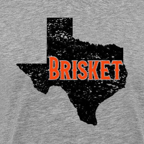 State of Texas Brisket BBQ Barbeque - Männer Premium T-Shirt