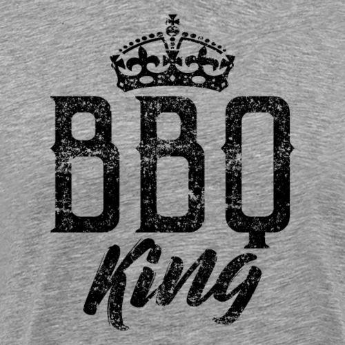 BBQ Barbeque King - Männer Premium T-Shirt