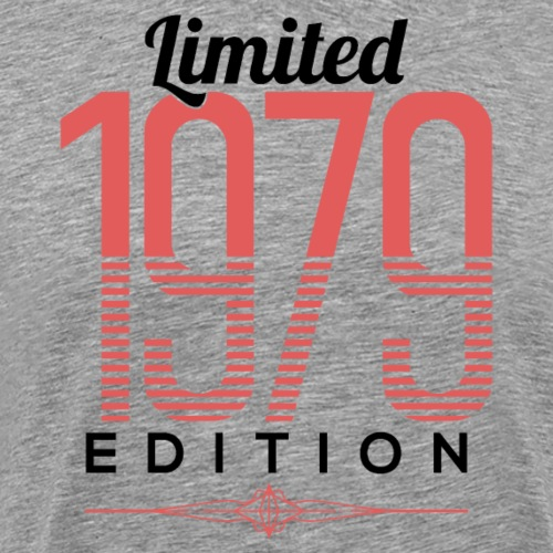 Limited 1979 Edition 40th Birthday - Männer Premium T-Shirt