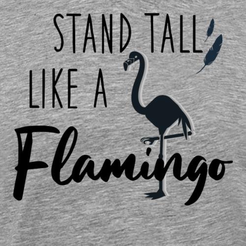 Stand tall like a Flamingo