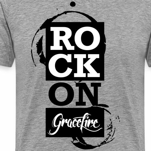 Gracefire Special Design RockOn - Männer Premium T-Shirt