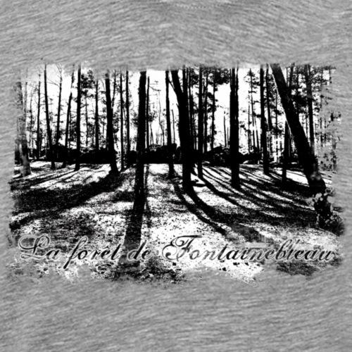 La forêt de Fontainebleau - Männer Premium T-Shirt