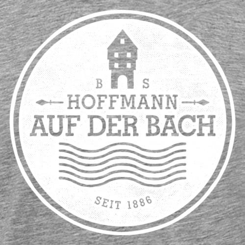 Bach - Logo 3 - Weiß