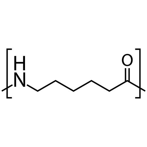 Polycaprolactam (Nylon 6) molecule. - Men's Premium T-Shirt