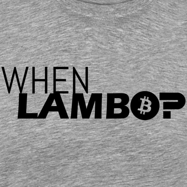 HODL-when lambo-b