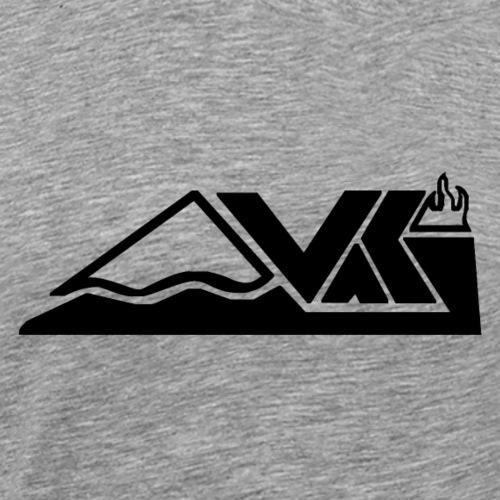 Vaki Black Done - Männer Premium T-Shirt