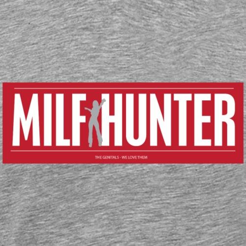 MILFHUNTER1 - Herre premium T-shirt