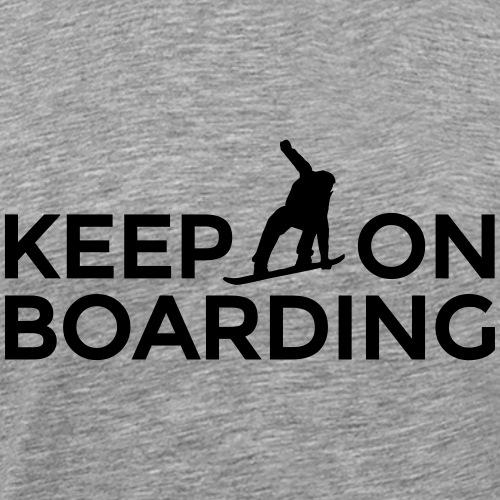 Keep on Boarding Après-Ski Snowboard Design