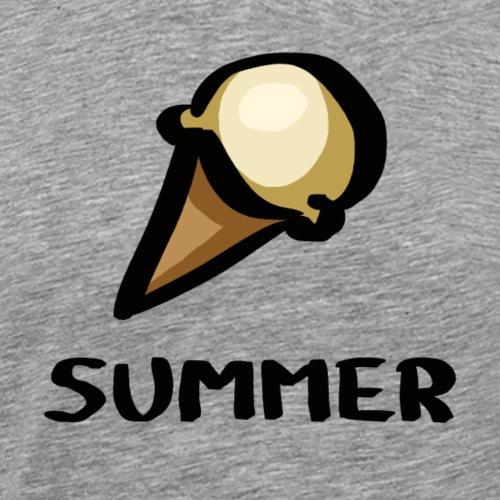 Summer Ice Cream - Männer Premium T-Shirt