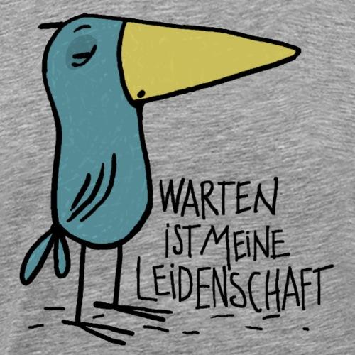 warten - Männer Premium T-Shirt