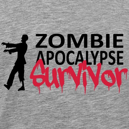 Zombie Apocalypse - T-shirt Premium Homme