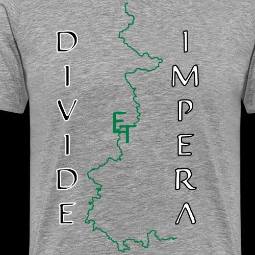 divide deutschland - Männer Premium T-Shirt