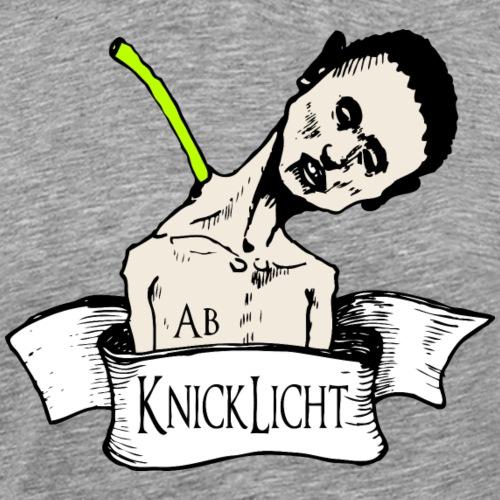 Abknicklicht Farbe - Männer Premium T-Shirt