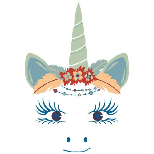 Cute Unicorn Boho Chic Feathers 3 - Männer Premium T-Shirt