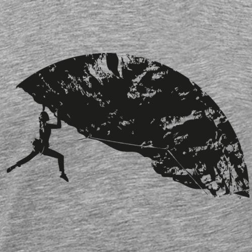 Climbing Woman - Climber - Men's Premium T-Shirt
