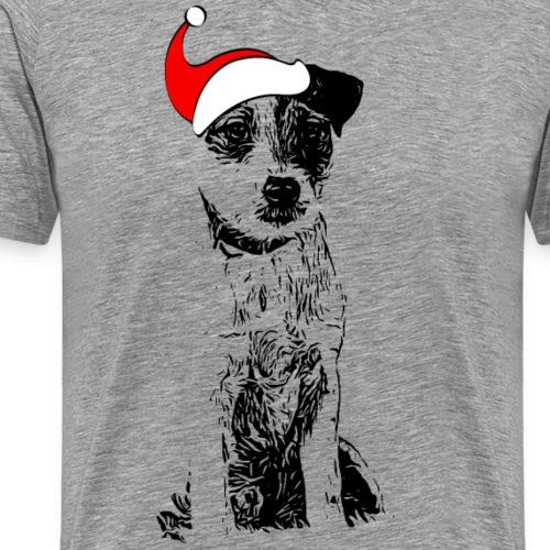 Weihnachten Parson Russell Terrier Hund Geschenk - Männer Premium T-Shirt