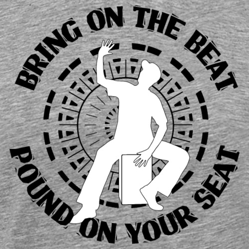 Cajon - Bring on... (Kreis) - Männer Premium T-Shirt