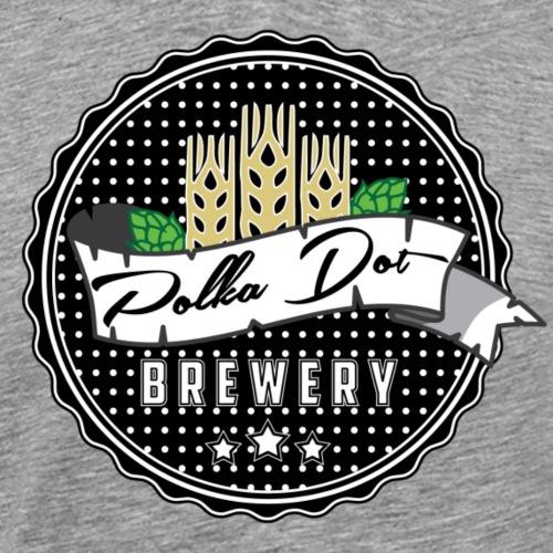 Polkadot Brewery - Premium-T-shirt herr