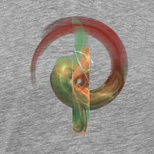 QA - Fraktal 0007 - Männer Premium T-Shirt