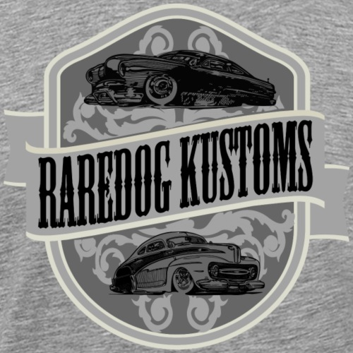 rd kustoms gray - Herre premium T-shirt