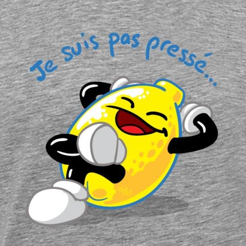 Citron je suis pas presse - T-shirt Premium Homme