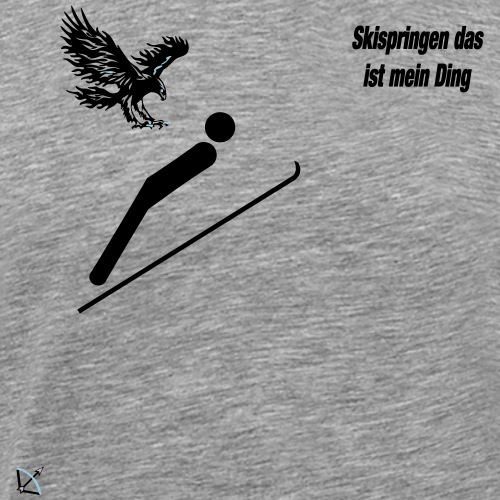 Skispringen mein Ding - Männer Premium T-Shirt