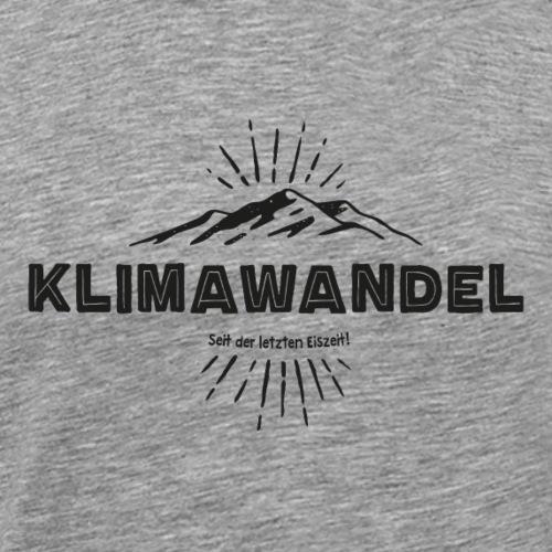 Klimawandel (Black Edition) - Männer Premium T-Shirt