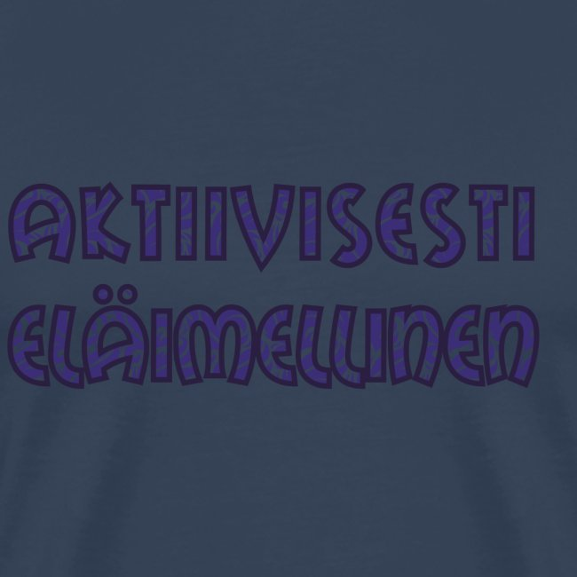 Aktiivisesti eläimellinen - Violetti