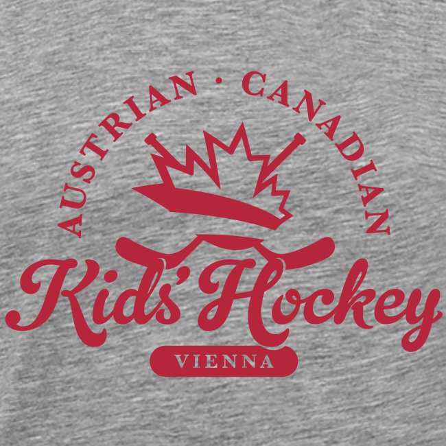 Kids Hockey Retro Badge