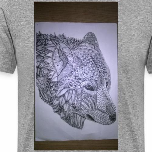 Dances with wolfs - Mannen Premium T-shirt