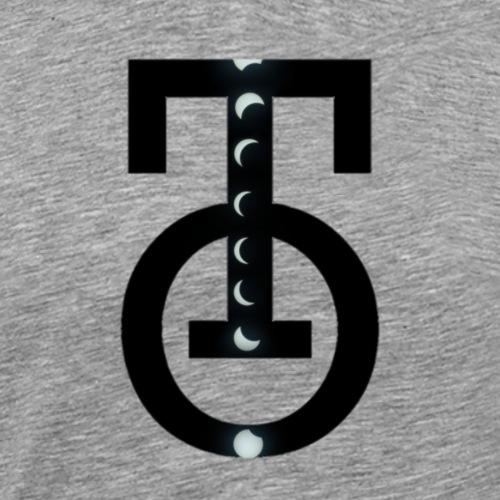 LogoTOAlt4MoonscapeIINB - Men's Premium T-Shirt