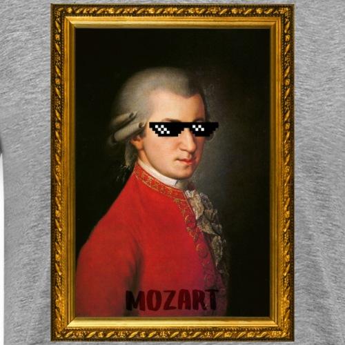 Mozard lunette de soleil pixel - T-shirt Premium Homme