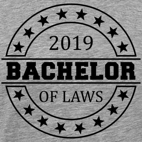Bachelor of Laws 2019 - Männer Premium T-Shirt