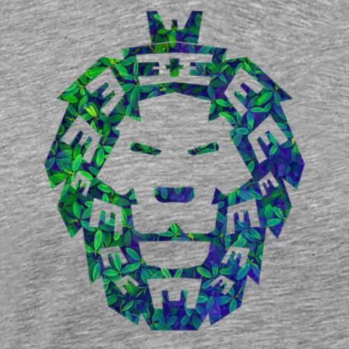 Löwen Kopf - Männer Premium T-Shirt